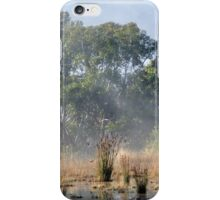 Foggy morning, Romsey iPhone Case/Skin