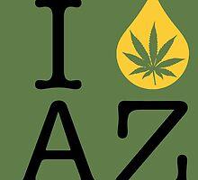 I Dab AZ (Arizona) by LaCaDesigns