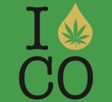 I Dab CO (Colorado) Weed by LaCaDesigns