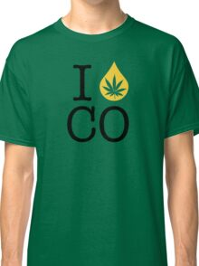 I Dab CO (Colorado) Weed Classic T-Shirt