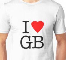 I Love Great Britain - I Heart GB Unisex T-Shirt