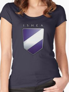 Ishean Coat of Arms Women's Fitted Scoop T-Shirt