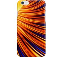 Color & Form Abstract - Solar Gravity & Magnetism 3 iPhone Case/Skin