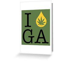 I Dab GA (Georgia) Greeting Card