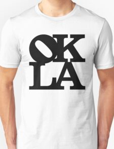 OKLA (Black)-large T-Shirt