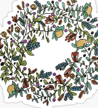 Wreath Magic Sticker