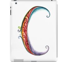 The Letter C iPad Case/Skin