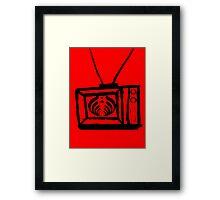 Bass TV nectar Framed Print