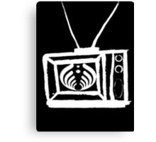 Bass TV Canvas Print