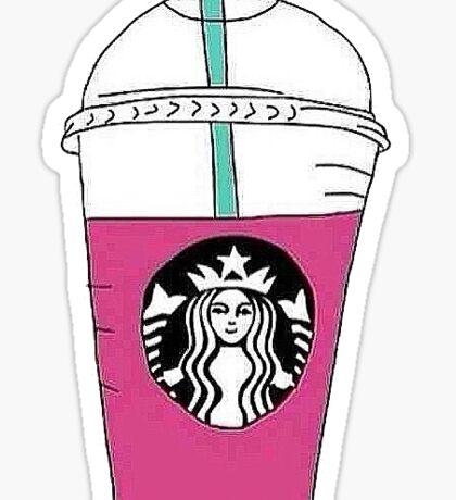 Starbucks Pink Drink Sticker
