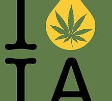 I Dab IA (Iowa) by LaCaDesigns