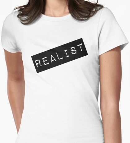 Realist Label  Womens Fitted T-Shirt
