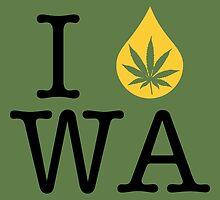I Dab WA (Washington) by LaCaDesigns