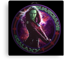 Gamora - Guardians Of The Galaxy Canvas Print