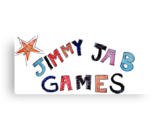 Jimmy Jab Games - Brooklyn Nine Nine Canvas Print