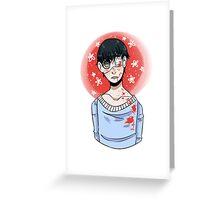 Kaneki Greeting Card