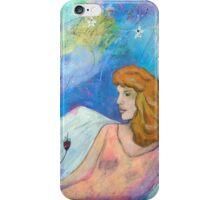 Cosmic Angel iPhone Case/Skin