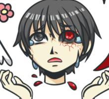 Kaneki Ken Did Nothing Wrong Sticker