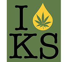 I Dab KS (Kansas) Photographic Print