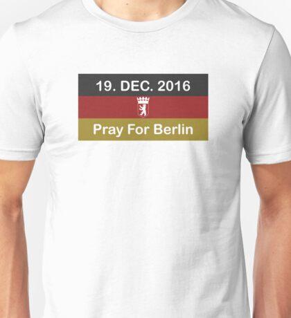 Pray For Berlin Unisex T-Shirt