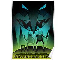 Adventure Time Fan Art Poster