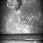 Binalong Bay Moonscape by fantasytripp