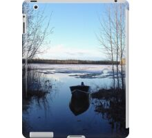 Cold Blue Spring Day iPad Case/Skin