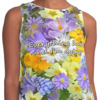 Everything hurts and I'm dying Contrast Tank