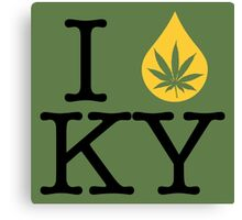 I Dab KY (Kentucky) Canvas Print