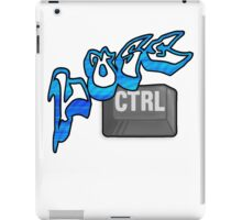 Lose Ctrl (blue) iPad Case/Skin