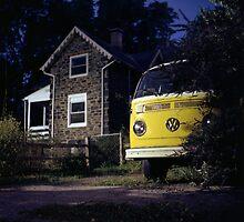 Yellow Volkswagen by Daniel Regner