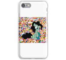 Dark Pinkie Sprinkles Design iPhone Case/Skin