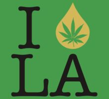 I Dab LA (Louisiana) Weed by LaCaDesigns