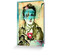 Leader Of The Pack ( Rimbaud Leather )  Greeting Card
