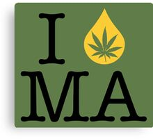 I Dab MA (Massachusetts) Canvas Print