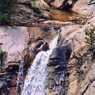 Seven Falls (Colorado) 2 by Lori Peters