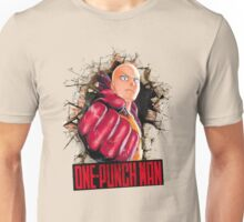 One Punch Man Crash Wall Unisex T-Shirt