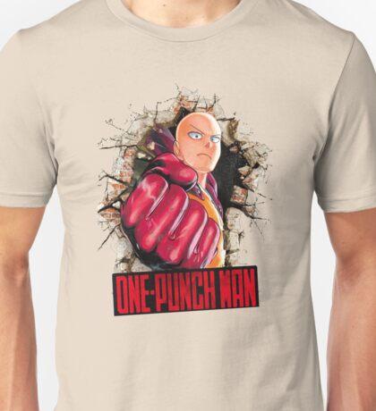 One Punch Man Crash Wall Unisex T-Shirt