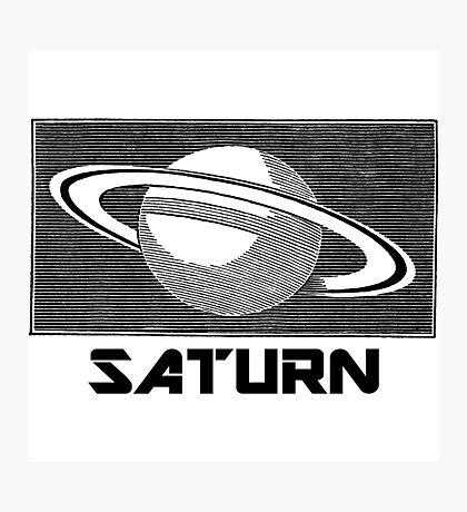 Saturn Photographic Print