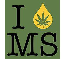 I Dab MS (Mississippi) Photographic Print