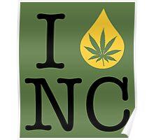 I Dab NC (North Carolina) Poster