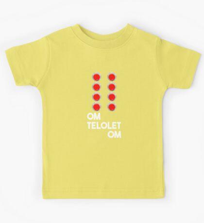 Om Telolet Om - Button Kids Tee