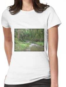 Willow Green on the Merri Womens Fitted T-Shirt