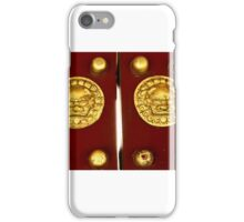 Chinese doors iPhone Case/Skin