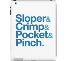 Sloper & Crimp & Pocket & Pinch iPad Case/Skin