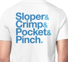 Sloper & Crimp & Pocket & Pinch Unisex T-Shirt