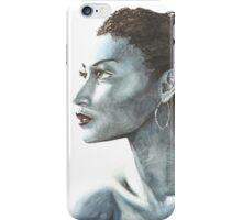Black and Blue iPhone Case/Skin
