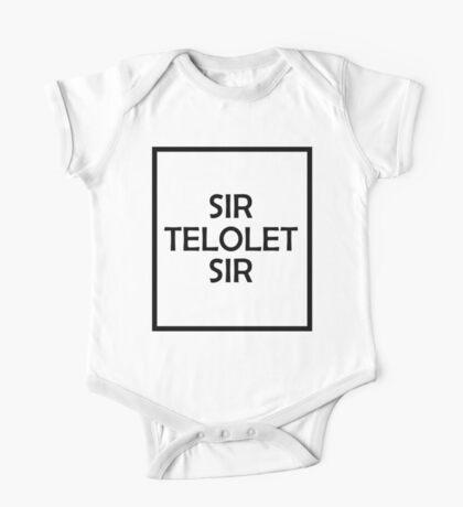 SIR TELOLET SIR One Piece - Short Sleeve