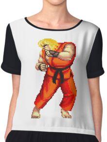 Street Fighter 2 Ken Chiffon Top
