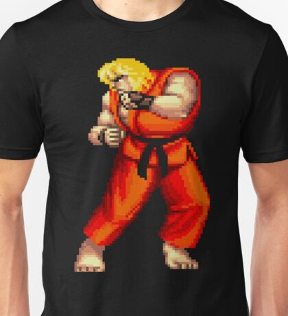 Street Fighter 2 Ken Unisex T-Shirt